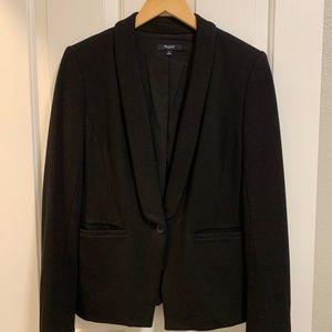 Madewell Black Modern Blazer